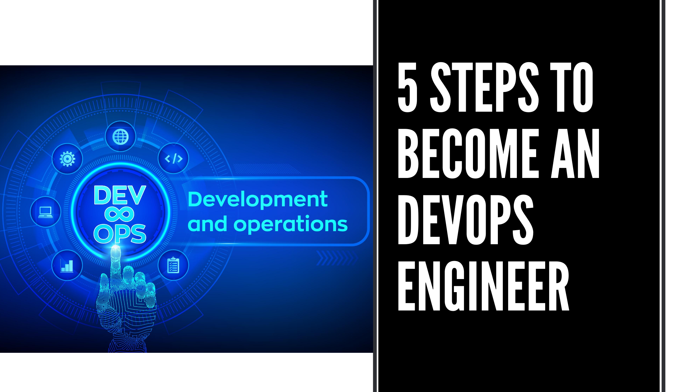 5 STEPS TO BECOME DevOps ENGINEER